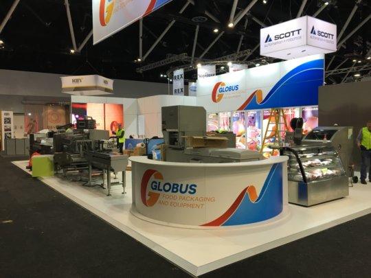 Globus Stand